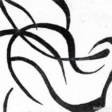 Arte: MINIMALISM-ALCOHOL MARKERS ART 9X7 CM. Lote 151909390