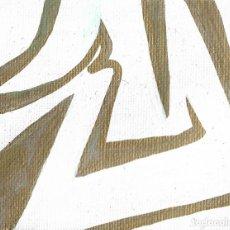 Arte: MINIMALISM-ALCOHOL MARKERS ART 9X7 CM. Lote 151909674