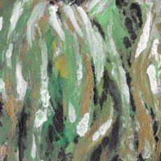 Arte: DELIRIUM-ABSTRACT ACRYLIC AND OIL ART 11.5X15 CM. Lote 151911394