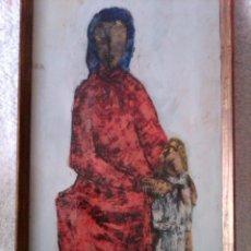 Arte: JORGE TEIXIDOR - 48 X 26 CM. Lote 151914582