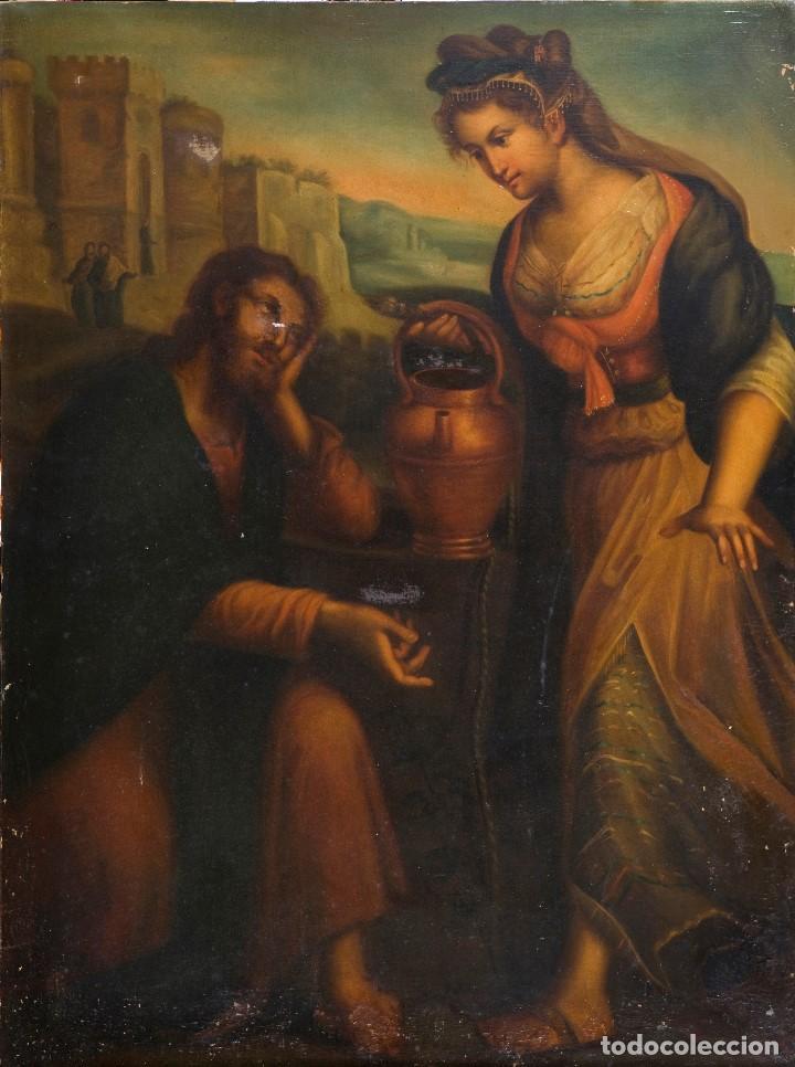 ESCUELA FLAMENCA SIGLO XVIII (Arte - Pintura - Pintura al Óleo Antigua siglo XVIII)