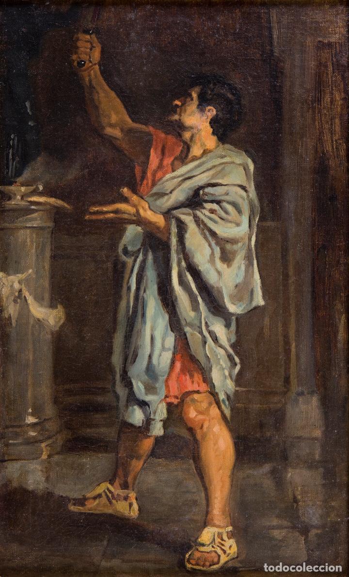 EDUARDO ROSALES (Arte - Pintura - Pintura al Óleo Moderna siglo XIX)