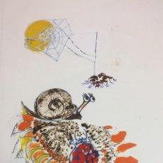 Arte: ROSER ODUBER MUNTANYOLA (1957), TECNICA MIXTA 40X50 CMS. Lote 151961834
