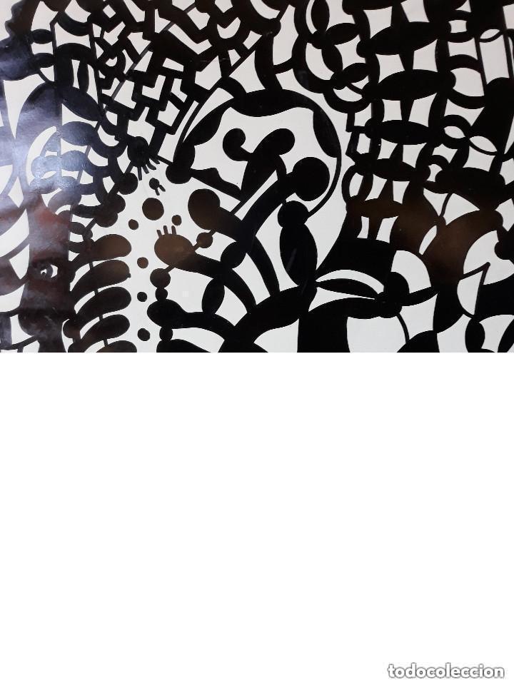 Arte: ABSTRACTO sobre Cartulina ( SIN MARCO ),(SANTA) n 0026 CON LA COMPRA DE 5 CARTULINAS ABSTRACTA 1 - Foto 2 - 151987174