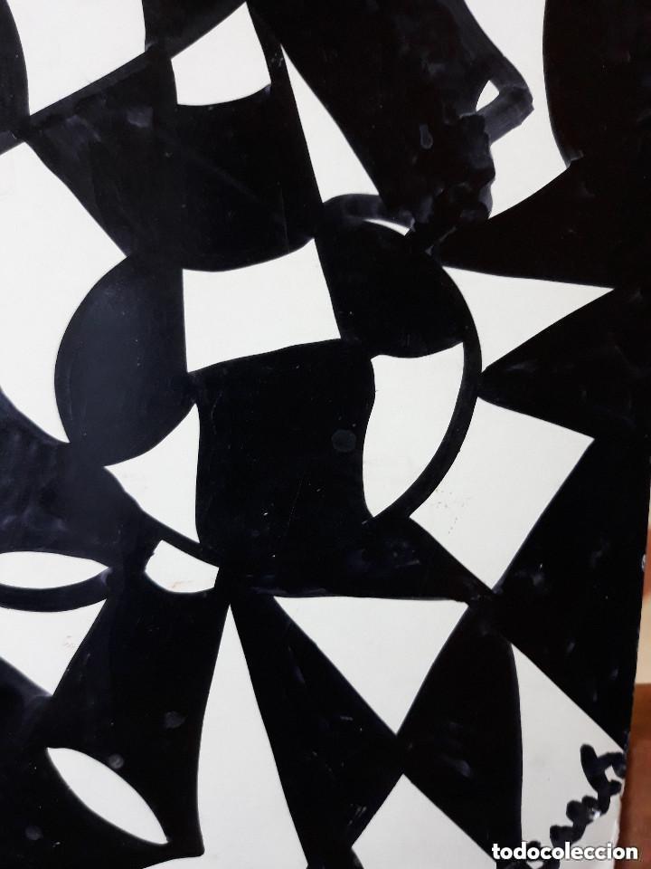 Arte: ABSTRACTO sobre Cartulina ( SIN MARCO ),(SANTA) n 0026 CON LA COMPRA DE 5 CARTULINAS ABSTRACTA 1 - Foto 3 - 151987174