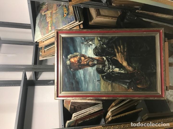 Arte: magistral retrato de don quijote - Foto 5 - 152032282