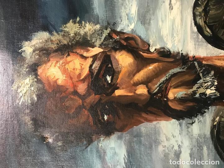 Arte: magistral retrato de don quijote - Foto 10 - 152032282