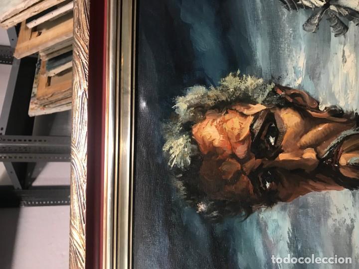 Arte: magistral retrato de don quijote - Foto 12 - 152032282