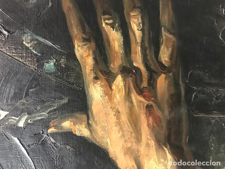 Arte: magistral retrato de don quijote - Foto 14 - 152032282