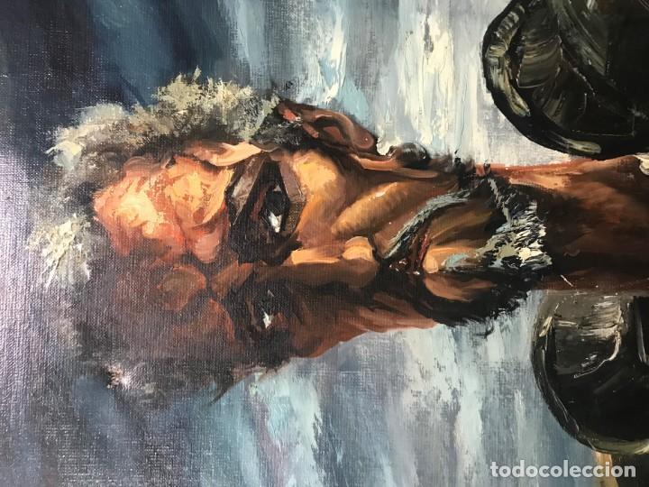 Arte: magistral retrato de don quijote - Foto 16 - 152032282