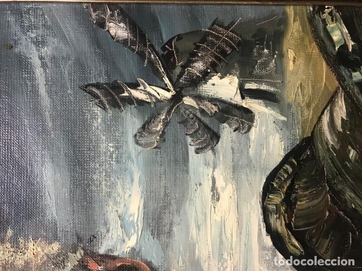 Arte: magistral retrato de don quijote - Foto 17 - 152032282