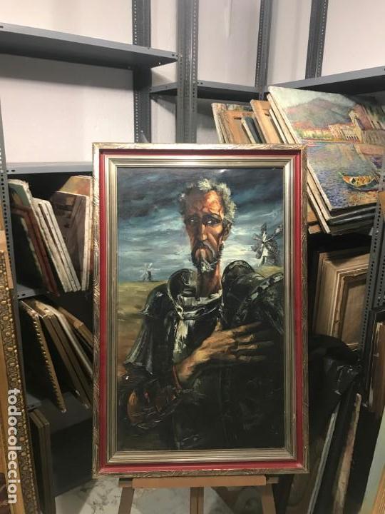 MAGISTRAL RETRATO DE DON QUIJOTE (Arte - Pintura - Pintura al Óleo Moderna sin fecha definida)