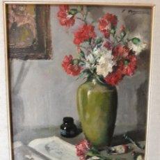 Arte: JOAQUIN ASENSIO MARINE ( OLEO SOBRE TABLA ) BODEGON. Lote 152174906