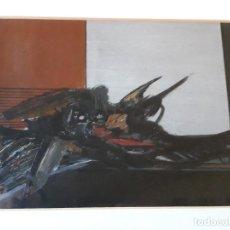 Arte: HIDALGO PAGÉS JOAQUIN ( PINTOR ) - SERIE PAJAROS-. Lote 152175438
