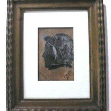 Arte: OLEO S/ LIENZO FIRMADO Y FECHADO 1898. Lote 152432302