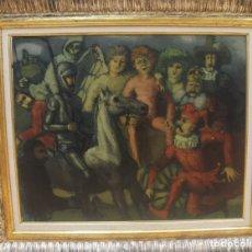 Kunst - Laxeiro (Lalín 1908 - Vigo 1996) Óleo sobre lienzo - 152133630