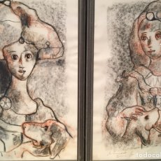 Arte: PAREJA DIBUJO MIQUEL TORNER DE SEMIR. Lote 152446397