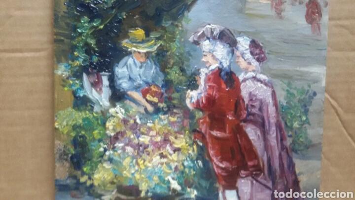 UN PASEO SIGLO XVII (Arte - Pintura - Pintura al Óleo Contemporánea )