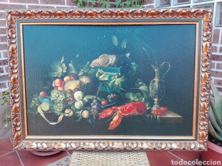 GRAN CUADRO BODEGÓN (RECOGER EN TIENDA) (Arte - Pintura - Pintura al Óleo Antigua sin fecha definida)