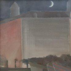 Arte: BABÍO BABÍO, FERNANDO ( SADA, A CORUÑA, 1953 ) DÁRSENA. ÓLEO SOBRE TABLA.. Lote 152524094