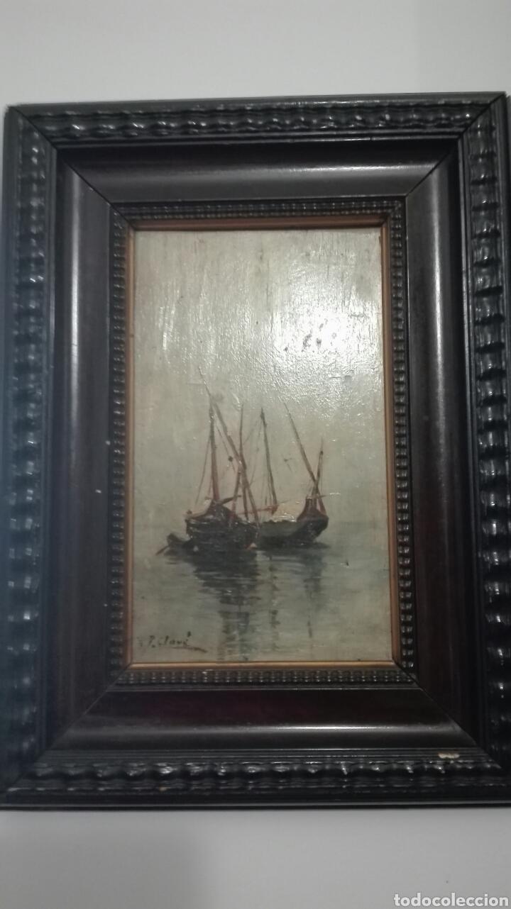 TABLA ANTIGUA (Arte - Pintura - Pintura al Óleo Moderna siglo XIX)
