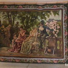 Art - Antiguo cuadro Tapiz 155x205 firmado Ángeles Luna - 152618434