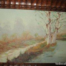 Art - ANTIGUA PINTURA OLEO EN LIENZO CON MARCO - 152624122