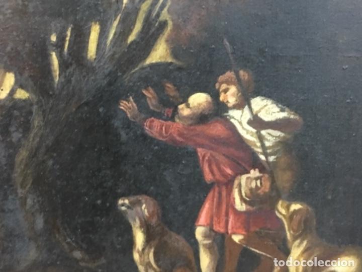 Arte: Antiguo cuadro Carratala 70x60 con marco lienzo 53x63 - Foto 4 - 152629434