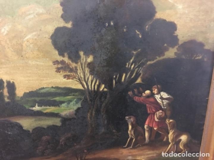 Arte: Antiguo cuadro Carratala 70x60 con marco lienzo 53x63 - Foto 7 - 152629434