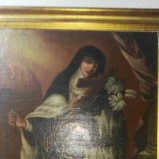 Arte: OLEO SOBRE LIENZO ANTIGUO SIGLO XVIII. Lote 152635816