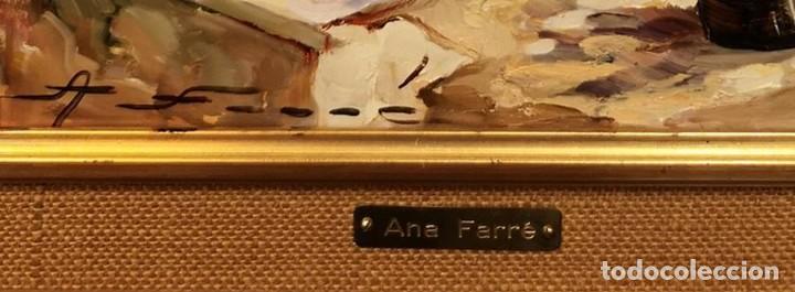 Arte: Óleo Gitanilla en el umbral de Ana Farré - Foto 4 - 152651714