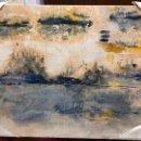 Arte: PINTURA SOBRE TABLA CON MEDIDAS 65X54 CM - FIRMADO POR LA PINTORA GADITANA LOURDES CASTRO CERON. Lote 152657478