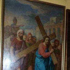 Arte: OLEO SOBRE LIENZO ANTIGUO SIGLO XVIII., ENRIQUE DE LOSADA. Lote 152670786