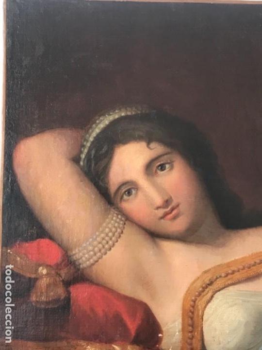 Arte: ESCUELA FRANCESA S.XVIII RETRATO BELLA DAMA, OLEO SOBRE TELA. VER FOTOS ANEXAS. - Foto 2 - 152762586