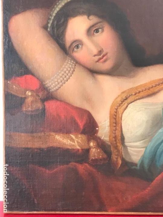 Arte: ESCUELA FRANCESA S.XVIII RETRATO BELLA DAMA, OLEO SOBRE TELA. VER FOTOS ANEXAS. - Foto 4 - 152762586