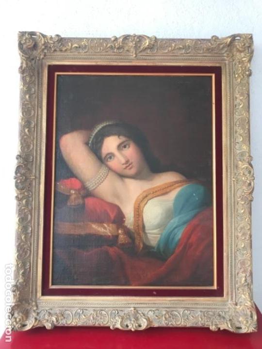 Arte: ESCUELA FRANCESA S.XVIII RETRATO BELLA DAMA, OLEO SOBRE TELA. VER FOTOS ANEXAS. - Foto 8 - 152762586