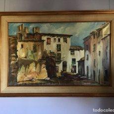 Arte: ÓLEO SOBRE LIENZO ,FIRMADO V.NIETO -(19045). Lote 152777302