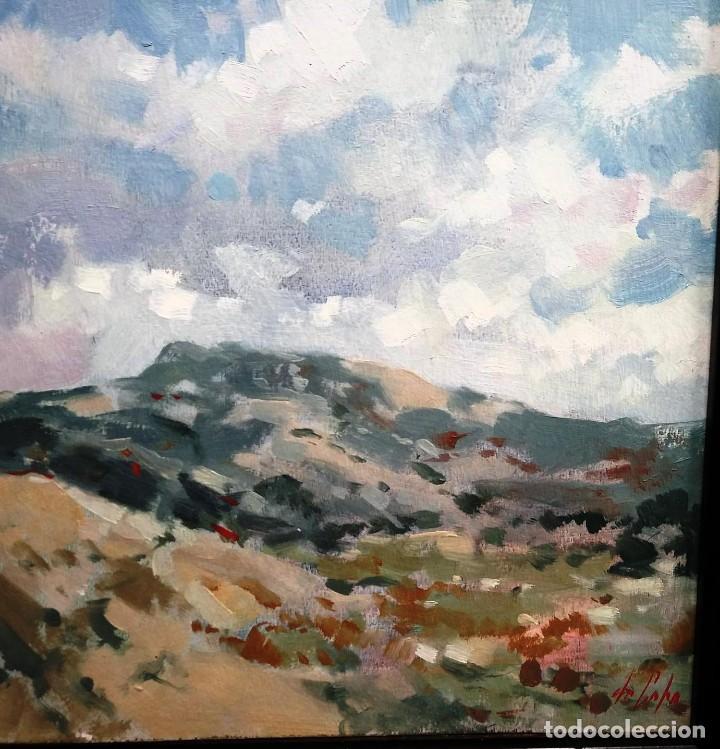 PASCUAL DE CABO PAISAJE (Arte - Pintura Directa del Autor)