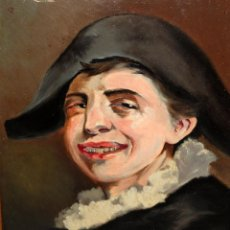 Arte: ANTONIO COLL I PI (BARCELONA, 1857 - SANTIAGO DE CHILE, 1943) OLEO SOBRE CARTON DURO. Lote 152903778