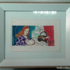Arte: BOADA, PEDRO, ILUSTRACIÓN ORIGINAL 1972. Lote 122870723