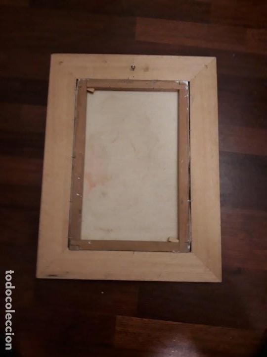 Arte: pintura al oleo preciosa y original con marco de madera robusto - Foto 4 - 152933150