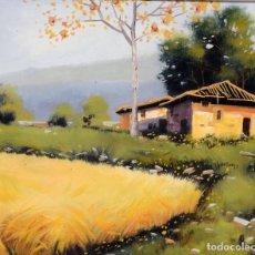 Arte: PINTURA AL OLEO DEL PINTOR RAJOLLY. Lote 152944550
