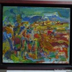 Arte: ÓLEO DE RAMON BOTER(BARCELONA 1954).. Lote 152968458