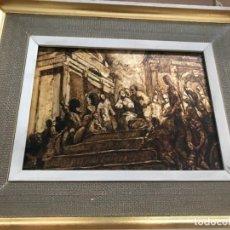 Arte - CUADRO RELIGIOSO SIGUIENDO MODELOS DE JM SERT - 153107570