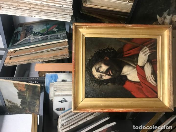 Arte: excepcional ecce homo italiano, s. xvii, circulo guido reni - Foto 3 - 153132622