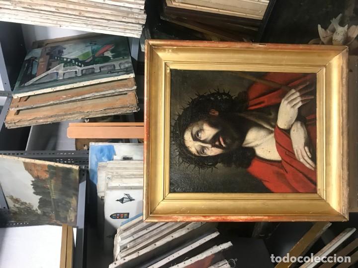 Arte: excepcional ecce homo italiano, s. xvii, circulo guido reni - Foto 4 - 153132622