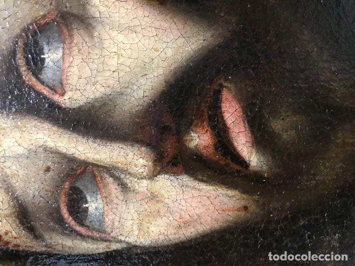 Arte: excepcional ecce homo italiano, s. xvii, circulo guido reni - Foto 8 - 153132622