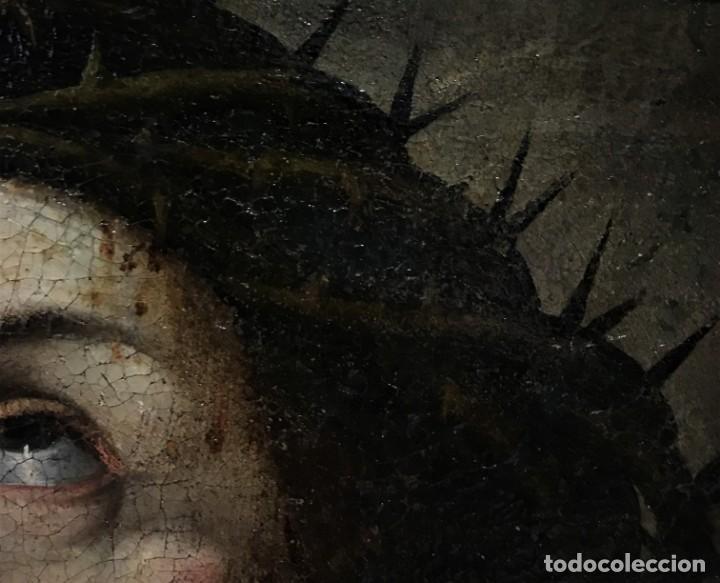 Arte: excepcional ecce homo italiano, s. xvii, circulo guido reni - Foto 11 - 153132622