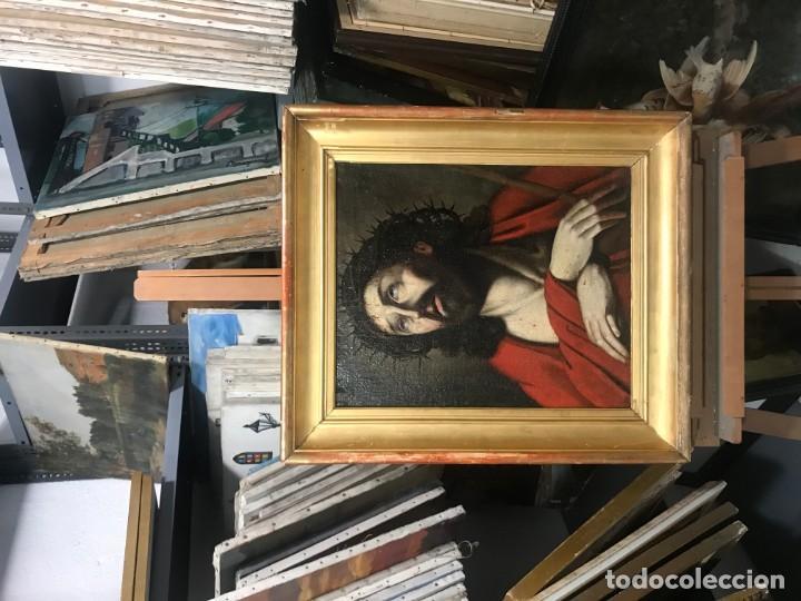 Arte: excepcional ecce homo italiano, s. xvii, circulo guido reni - Foto 13 - 153132622