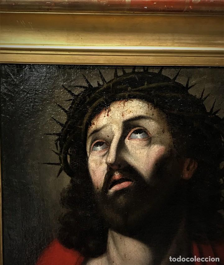 Arte: excepcional ecce homo italiano, s. xvii, circulo guido reni - Foto 16 - 153132622